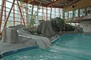 The swimming pool at or near River Rock Casino Hotel