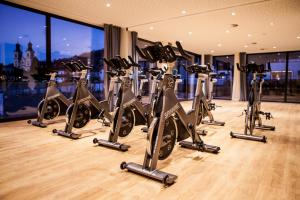 The fitness center and/or fitness facilities at Sportresort Hohe Salve
