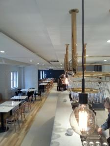 En restaurang eller annat matställe på Best Western Hotel Park Astoria
