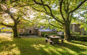 Jardín al aire libre en Casa Lourán