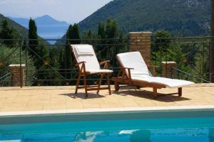Piscina en o cerca de Pilikas Luxury Villas