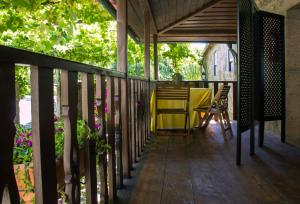 A balcony or terrace at Casa de Assade