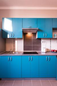 A kitchen or kitchenette at Bubble Hostel