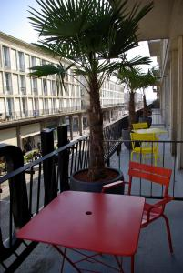 A balcony or terrace at ibis Styles Le Havre Centre