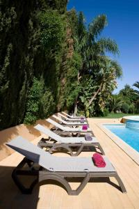 The swimming pool at or near Hotel Parque das Laranjeiras