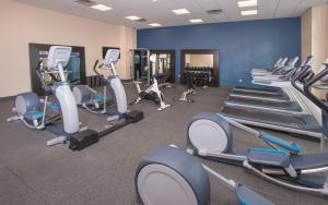 The fitness center and/or fitness facilities at Hampton Inn & Suites LAX El Segundo