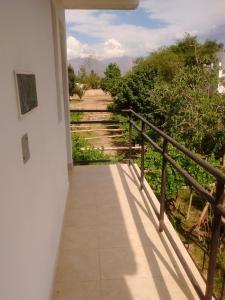 Un balcón o terraza en Hostería El Zaguan