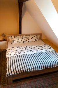 A bed or beds in a room at Apartment Gasa