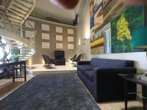 O saguão ou recepção de Beira Mar Suite