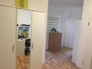 Küche/Küchenzeile in der Unterkunft Alte Station