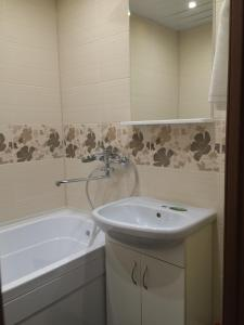 A bathroom at Apartments in Yakhroma