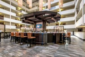 A restaurant or other place to eat at DoubleTree by Hilton Montgomery Downtown