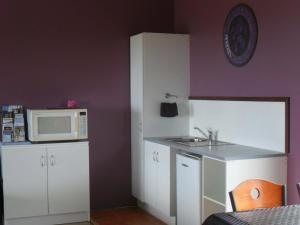 A kitchen or kitchenette at Tanen Farm