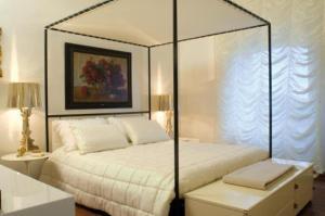 Letto o letti in una camera di Villa La Cerretana