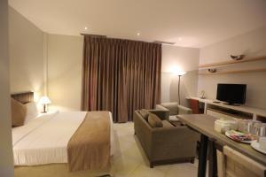 تلفاز و/أو أجهزة ترفيهية في فندق جبل عمان (هيريتيج هاوس)