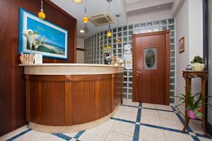 Hall o reception di Hotel lo Squalo