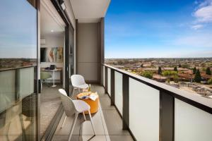 A balcony or terrace at Quest Dandenong Central