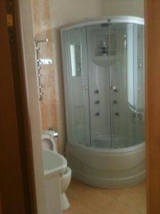 Ванная комната в Mini Hotel Ozero