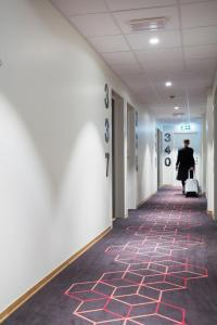 Lobby/Rezeption in der Unterkunft Citybox Bergen