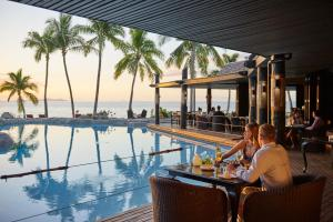 The swimming pool at or close to DoubleTree by Hilton Fiji - Sonaisali Island