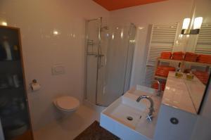 A bathroom at B&B Stadsoase Nijmegen