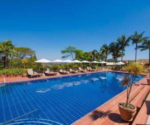 The swimming pool at or near Hotel Villa Rossa