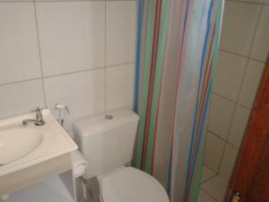 A bathroom at Casa Verde Maragogi