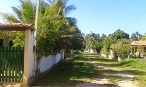 A garden outside Casa Verde Maragogi