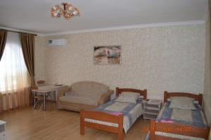 Гостиная зона в Guesthouse Taymirskaya 12