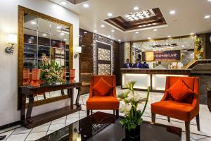 The lobby or reception area at Hotel Sunstar Heritage