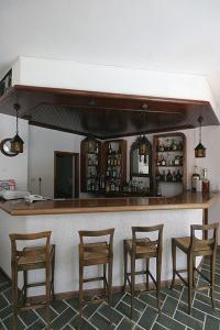 Salon ou bar de l'établissement Atlantis Hotel