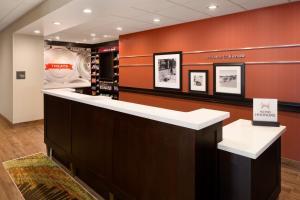 The lobby or reception area at Hampton Inn Kanab