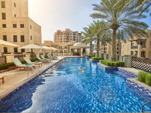 The swimming pool at or near Manzil Downtown
