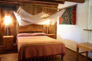 Cama o camas de una habitación en Villa Escondida