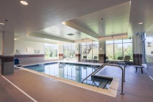 The swimming pool at or near Hilton Garden Inn Indiana at IUP
