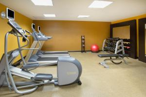 The fitness center and/or fitness facilities at Homewood Suites by Hilton Phoenix-Avondale