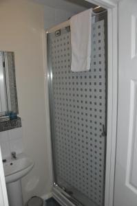 A bathroom at The Sydney Arms