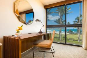 A television and/or entertainment center at Hilton Garden Inn Kauai Wailua Bay, HI