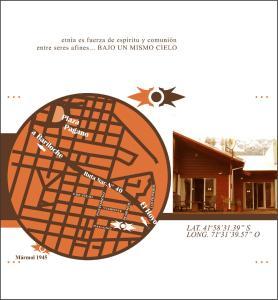 El plano del piso de Cabañas Etnia