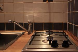 Kuchnia lub aneks kuchenny w obiekcie Na Kopernika