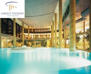 The swimming pool at or close to Hotel Krone Aachen   City-Eurogress