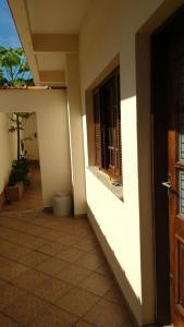 A balcony or terrace at Casa Oliveira