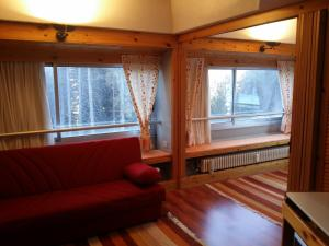 A seating area at Appartamento Artuik
