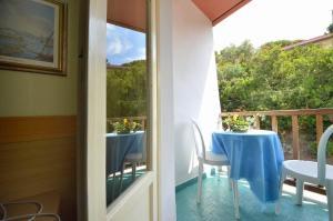 A balcony or terrace at Hotel Stella Maris
