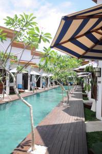 The swimming pool at or near Jali Resort - Gili Trawangan