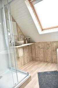 Salle de bains dans l'établissement Hof Ter Meulen