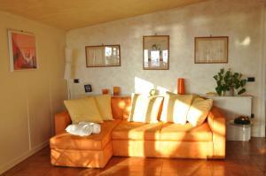A seating area at Suite Prestige Salerno