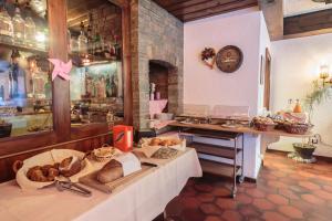 Restaurant ou autre lieu de restauration dans l'établissement Matterhorn Inn