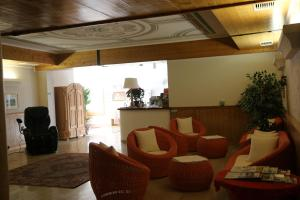 The lobby or reception area at Hotel Köppeleck