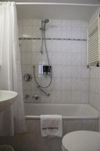 A bathroom at Hotel Köppeleck